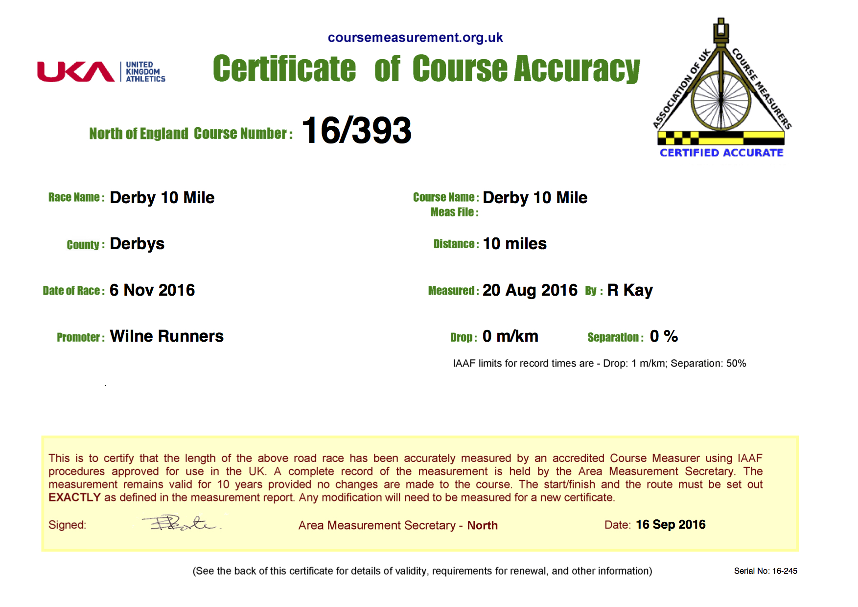 derby-10-mile-2016-course-measurement-certificate
